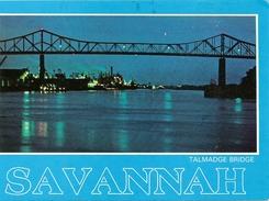 ETATS UNIS SAVANNAH - TALMADGE BRIDGE Vers 1980 - Savannah