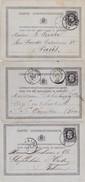 Carte Correspondance Vers France ,  Boheme De La Louviere Anvers Et Jumet - 1869-1883 Leopold II