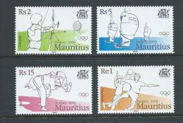Mauritius 2000 Sydney Olympic Games Set 4 MNH - Mauritius (1968-...)