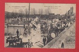 Villeneuve Sur Yonne  --  Cavalcade Du 21 Avril 1907 - Villeneuve-sur-Yonne