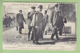 CASABLANCA : M. Regnault, Ministre De France Et M. Malpertuy, Consul à Casablanca. 2  Scans. Edition Boussuge - Casablanca