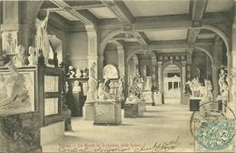10 Aube TROYES Le Musée De Sculpture Salle Simart  Voyagée - Troyes