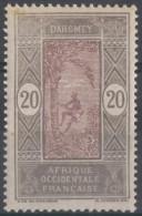 N° 49 - X X - ( C 27 ) - Petites Taches Sur Le Haut - Dahomey (1899-1944)