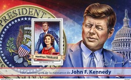 TOGO 2017 - J.F. Kennedy S/S. Official Issue.