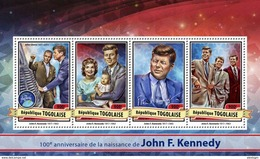 TOGO 2017 - J.F. Kennedy. Official Issue.