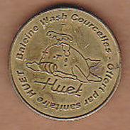 AC -  HUET BALEINE WASH COURCELLES OFFERT PAR SANITAIRE TOKEN JETON - Monetari/ Di Necessità