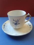 Tasse/Soucoupe De Colection Porcelaine Marque Villeroy & Boch (Luxembourg) - Cups