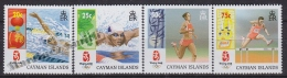 Cayman Islands 2008 Yvert 1101- 04, Pekin Olympic Games - MNH - Caimán (Islas)