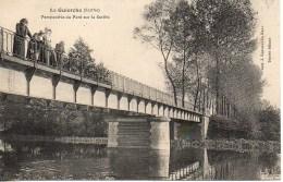 72 LA GUIERCHE Perspective Du Pont Sur Le Sarthe - Frankreich