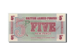 Grande-Bretagne, 5 New Pence, Undated (1972), KM:M47, NEUF - Military Issues