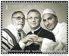 2016 Godsdiensten Réligion Multiculturalisme MNH !!! - Belgio