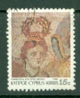 Cyprus: 1989   Roman Mosaics From Paphos   SG763   15c     Used - Oblitérés