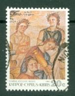 Cyprus: 1989   Roman Mosaics From Paphos   SG765   20c     Used - Chypre (République)