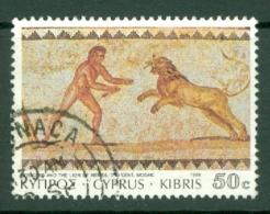 Cyprus: 1989   Roman Mosaics From Paphos   SG768   50c     Used - Chypre (République)