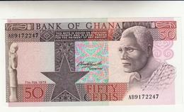Banconota Ghana, 50 Cedis 1979  Perfetta - Ghana