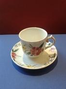 Tasse/Soucoupe De Colection Porcelaine Marque Villeroy & Boch (Germany) - Tasas