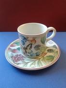 Tasse/Soucoupe De Colection Porcelaine Marque Villeroy & Boch (Germany) - Cups