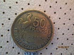 FRANCE 50 Francs 1952   # 5 - France