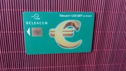 Phonecard  Euro 1000 BEF Low Issue Used Rare - Belgium