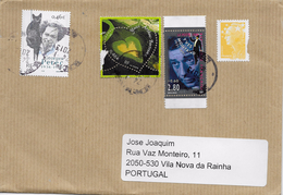 TIMBRES - STAMPS - MARCOPHILIE - LETTRE POUR PORTUGAL - FRANCE - TIMBRES DIVERS - France