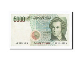 Italie, 5000 Lire, KM:111b, 1985-01-04, NEUF - [ 2] 1946-… : Repubblica