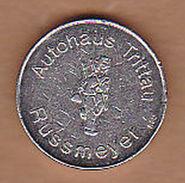 AC -  AUTOHAUS TRITTAU RUSSMETER KARCHER CLEANPARK TOKEN - JETON - Monetary /of Necessity