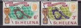 St HELENA 174-75 – World Cup Football (soccer) 1966 ** MNH - Sainte-Hélène