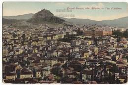 GREECE / GRECE Athens General City View C1910s Vintage Postcard - Houses - Parliament - Griechenland
