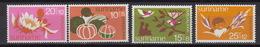 SURINAME : 607-11  ** MNH – Voor Het Kind – Pour L'enfance (1974) - Surinam