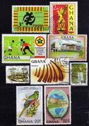 GHANA - Lot II  Used - Ghana (1957-...)