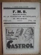1930 Fé. Motocyliste Belge N° Spécial Salon : SAROLEA - GILLET - A.J.S. - ARIEL - READY - SUPER-EXCELSIOR - LADYLETTE - Motor Bikes