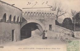 Monaco - Rampe Major - Cachet Postal 1913 - Monte-Carlo