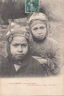 Algérie - Fillettes Mauresques - Judaica - Editeur Grand Bazar Bône - 1910 Timbre Taxe - Kinderen