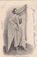 Algérie - Portrait Jeune Femme Danse Du Ventre - 1903 - Women