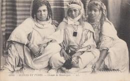 Algérie - Portrait Jeunes Femmes Mauresques - Bijoux - 1916 - Algérie