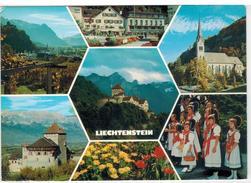 Liechtenstein  -  7 Ansichten  Gelaufen 1978 - Liechtenstein