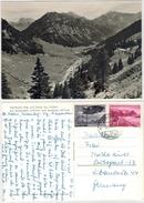 Liechtenstein  -  Saminatal  Gelaufen1960 - Liechtenstein