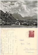Liechtenstein  -  Vaduz  Gelaufen1956 - Liechtenstein