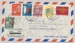 Nederland - 1960 - Kindserie 1959 Op Cover Naar Winnipeg / Canada