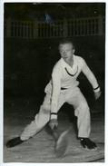 PHOTO EXHIBITION DE TENNIS SUR GLACE 1946 - PISCINE MOLITOR - Tennis