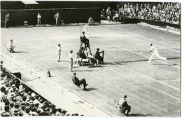 PHOTO TENNIS COUPE DAVIS 1937 - BUGDE (USA) CONTRE HARE (GB) - Tennis