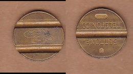 AC -  GETTONE TELEPHONE 7303  TOKEN - JETON - Monetary /of Necessity