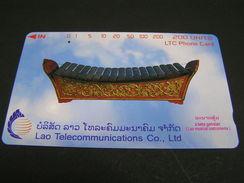 LAOS Phonecards..