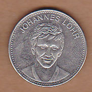 AC - JOHANNES LOHRJO SHELL IX FUSSBALL WELTMEISTERSCHAFT MEXICO 1970 FOOTBALL TOKEN - JETON - Monetary /of Necessity
