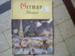 Revue D Art Et De Loisirs Mode Origine Alemagne Ecrit En Allemand Intitulee GERMAN REVIEW Annee 1954 - Livres, BD, Revues