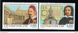 2017 - VATICAN - VATICANO - VATIKAN - S10E - MNH SET OF 2 STAMPS  ** - Vaticano