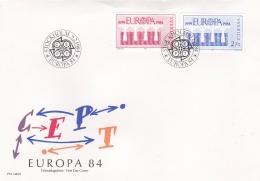 Sweden 1984 FDC Europa CEPT (T6-35) - Europa-CEPT