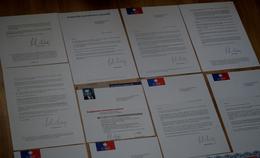 Nicolas SARKOSY - Campagne Présidentielle 2007 - Lot De 11 Lettres (voir Photos) - Autographes