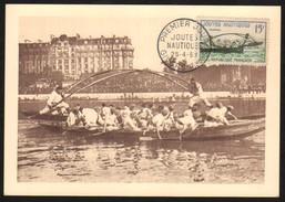 18446 França Maximo Postal Jogos Nauticos - Unclassified