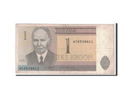Estonia, 1 Kroon, 1992, KM:69a, TB - Estonie